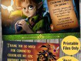 Zelda Party Invitations Legend Of Zelda Birthday Party Ideas Photo 1 Of 6
