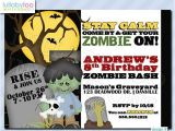 Zombie Baby Shower Invitations 17 Best Images About Invitations On Pinterest
