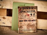 Zombie Baby Shower Invitations the Walking Dead Season 3 Premiere Party — Hello My Sweet