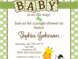 Zoo themed Baby Shower Invitations Free Safari Baby Shower Invitations Google Search