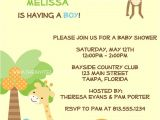 Zoo themed Baby Shower Invitations Items Similar to Jungle Baby Shower Invitations Safari